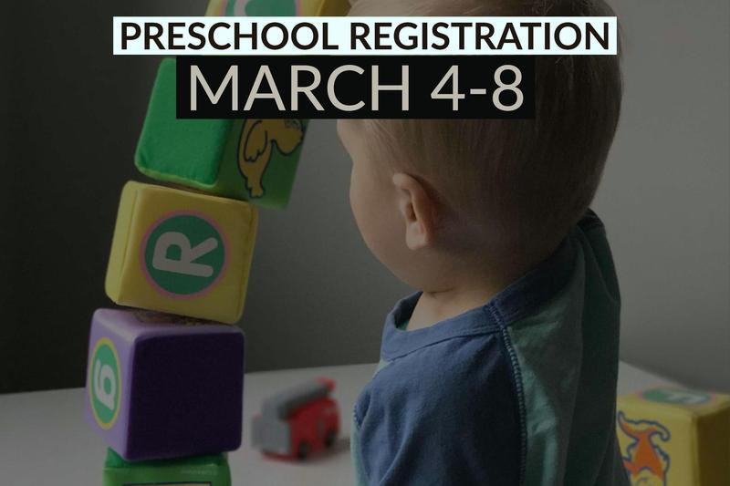 Preschool Registration Featured Photo