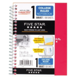 Picture of Mead 1-subject 100-pg college ruled notebook