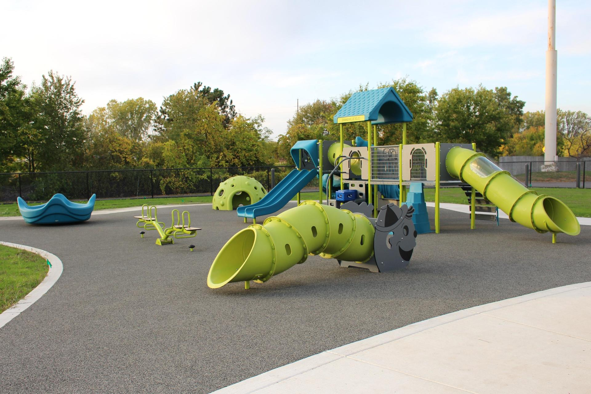 Playground for toddlers and preschoolers