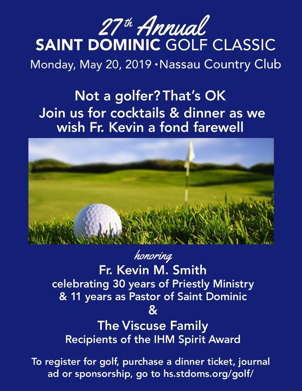 27th Annual Saint Dominic Golf Classic Featured Photo