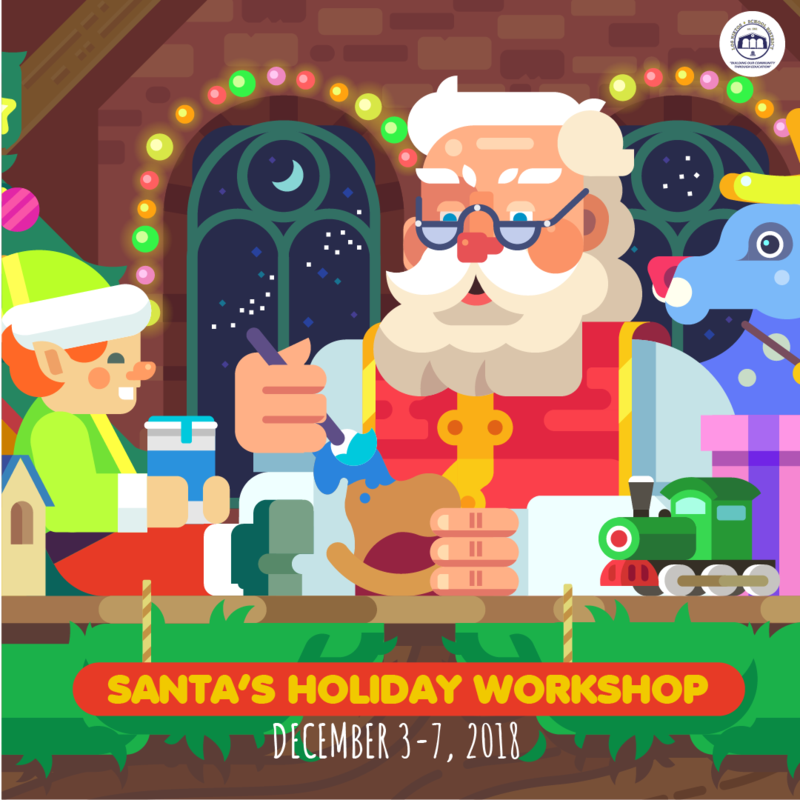 Santa's Holiday Workshop Featured Photo