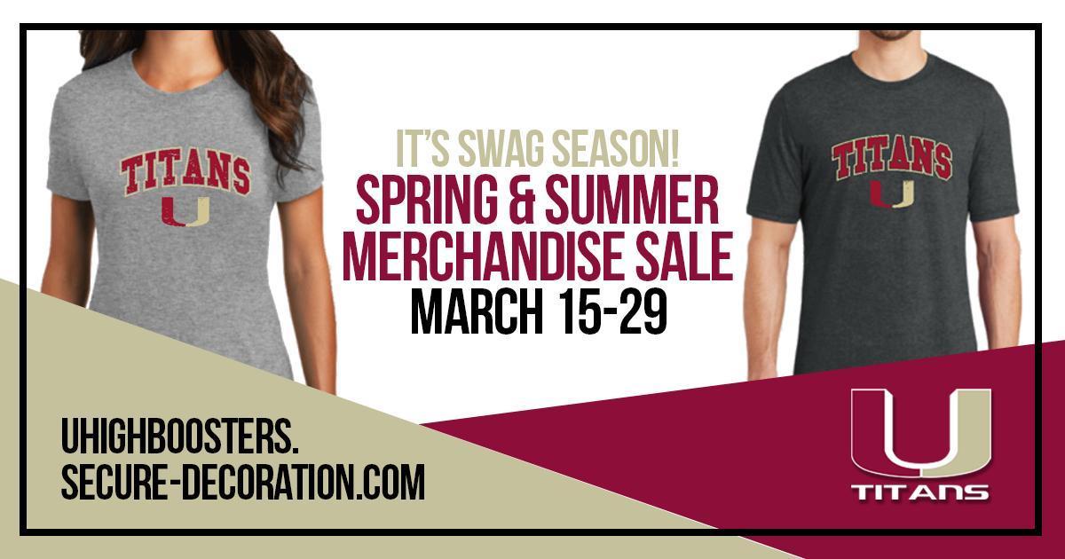 Spring Merchandise Sale