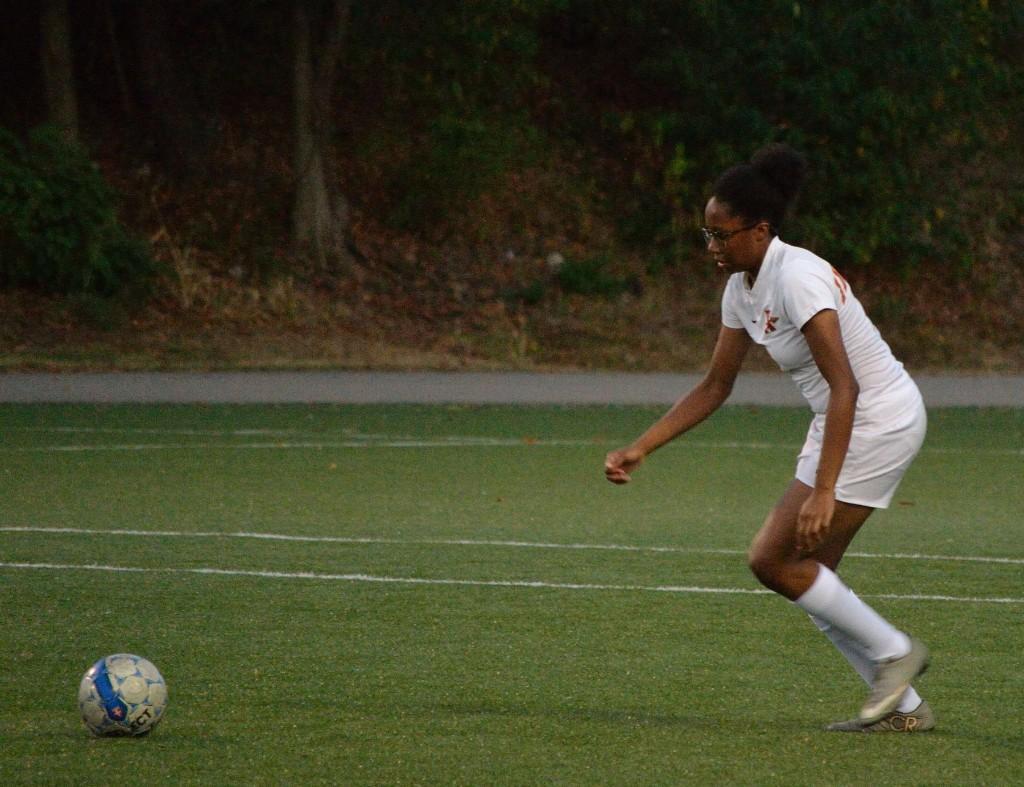 JV Girls' Soccer vs Fox Chapel - 100417