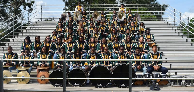 The McComb High School 2019-2020 Band Members!