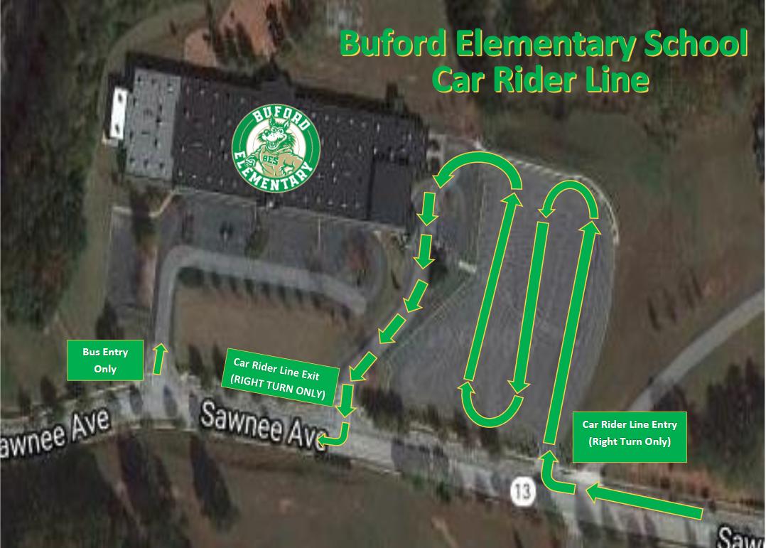 Car Rider Map