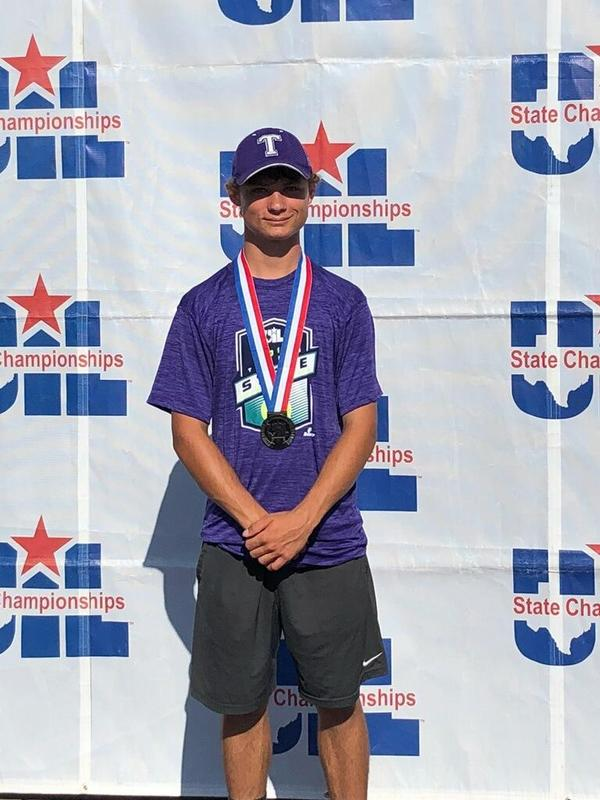 Ging Takes 2nd in State Tennis Tournament! Thumbnail Image