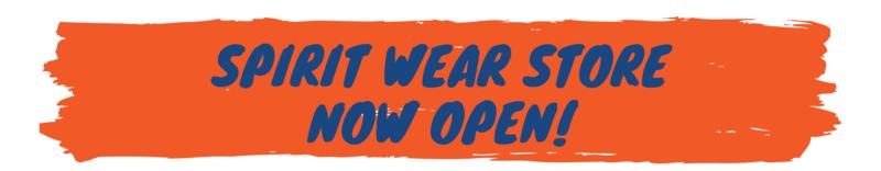 Spirit Wear store open