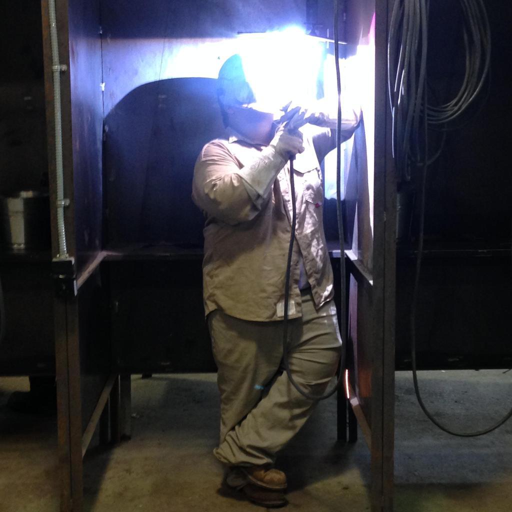 welding students