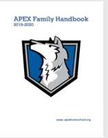 wolf badge cover for handbook