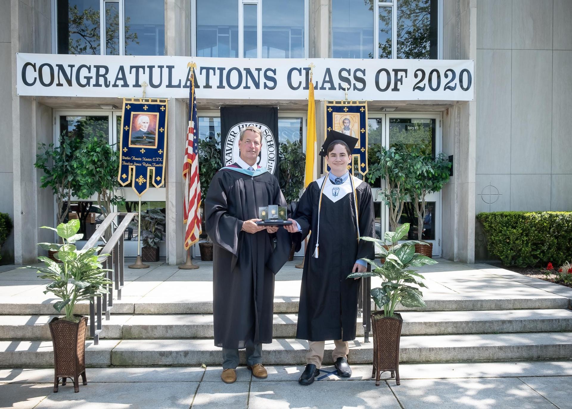 2020 valedictorian Alex Pralea
