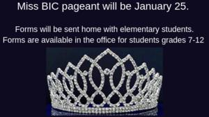 Miss BIC