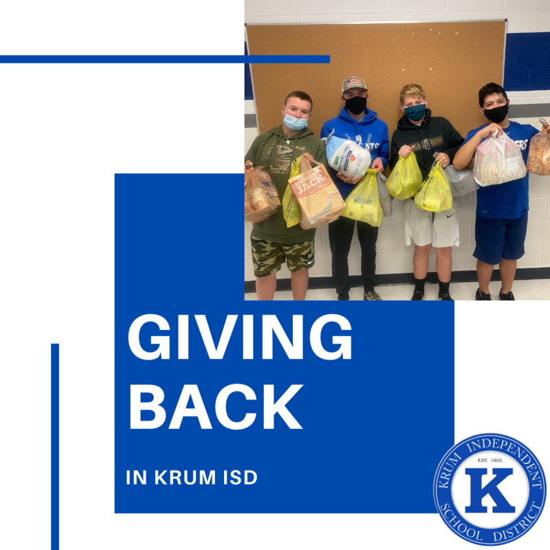 Giving Back in Krum ISD Featured Photo