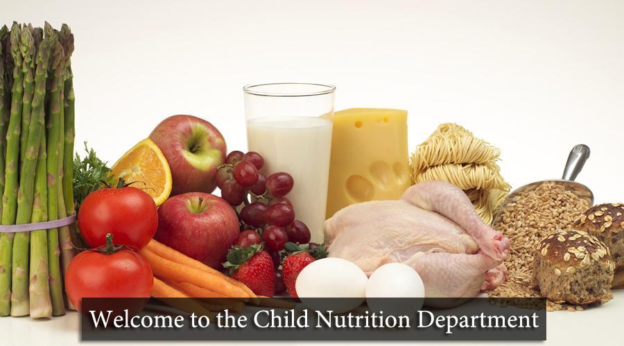 Nutrition webpage welcome pic