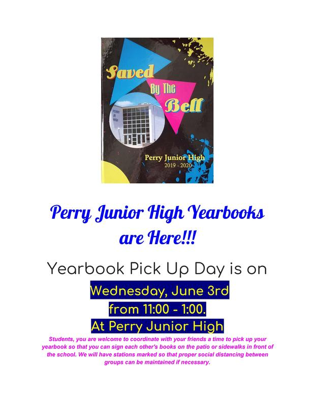 JH Yearbook Distribution