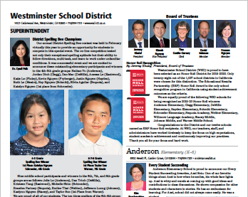 School News March/April 2021