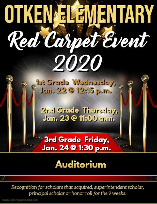 Otken Elementary hosts Red Carpet Event 2020  #ItsComeBackTime