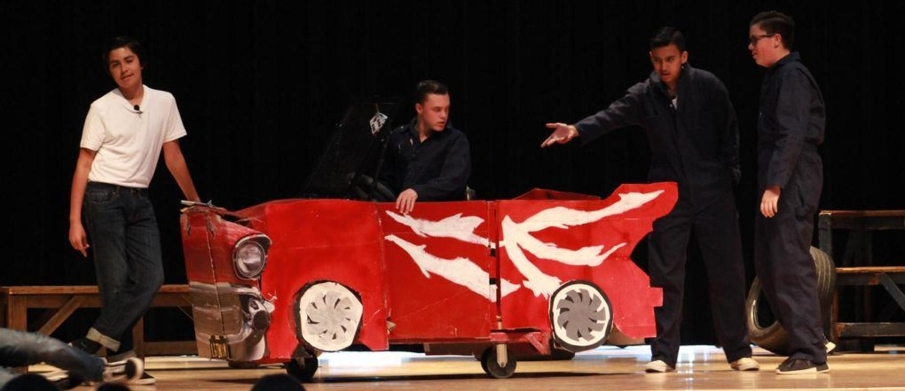 Johnson Middle School's Production of Grease