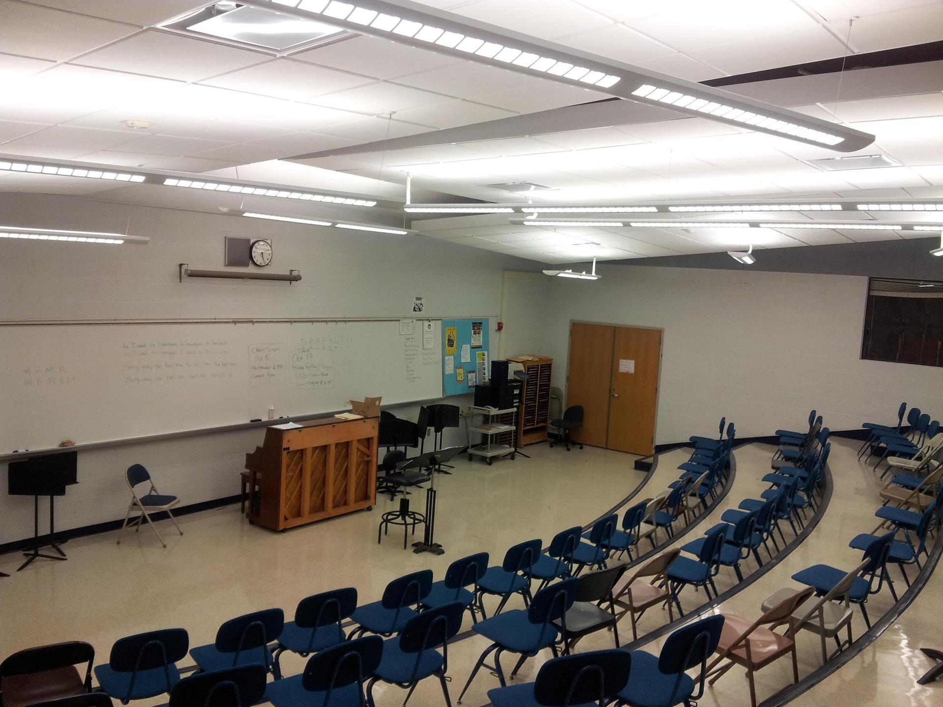 CHOIR ROOM.