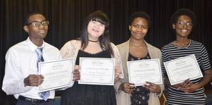 WOS High School Stark Reading Contest Winners