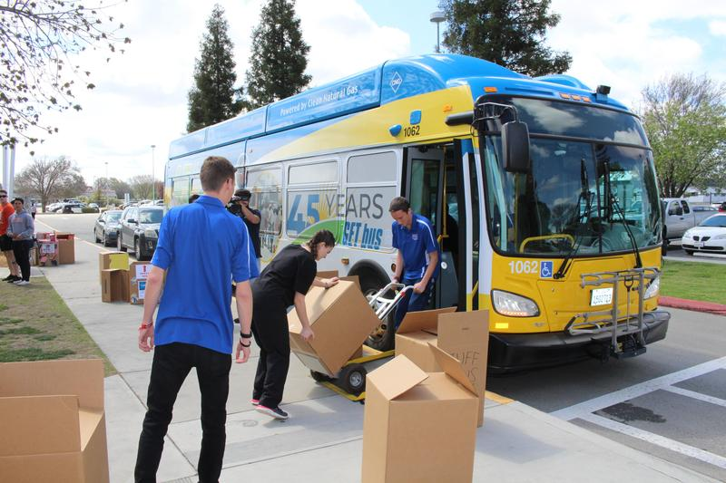 Students Stuff the Bus to Fight Hunger Thumbnail Image
