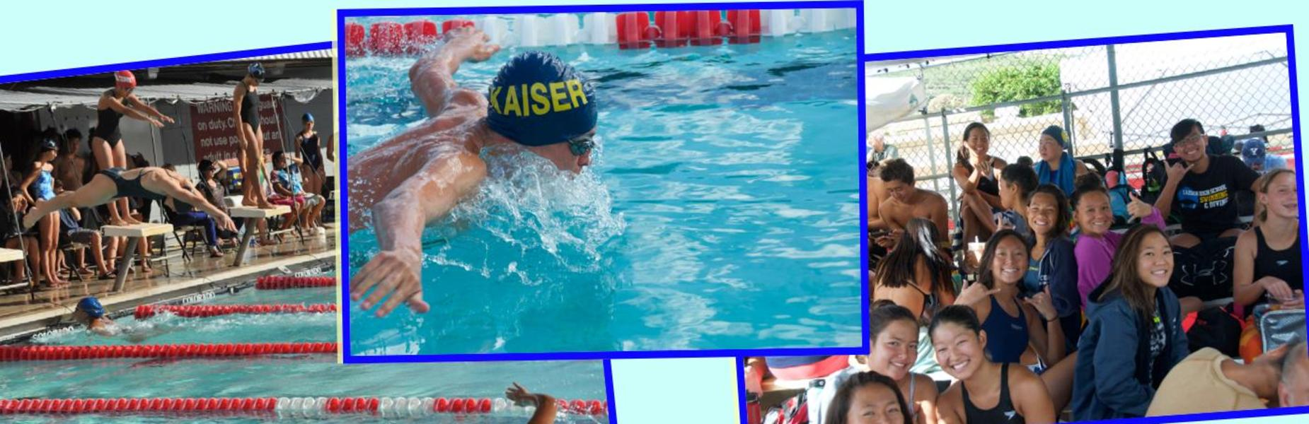 Kaiser swim OIA Champions