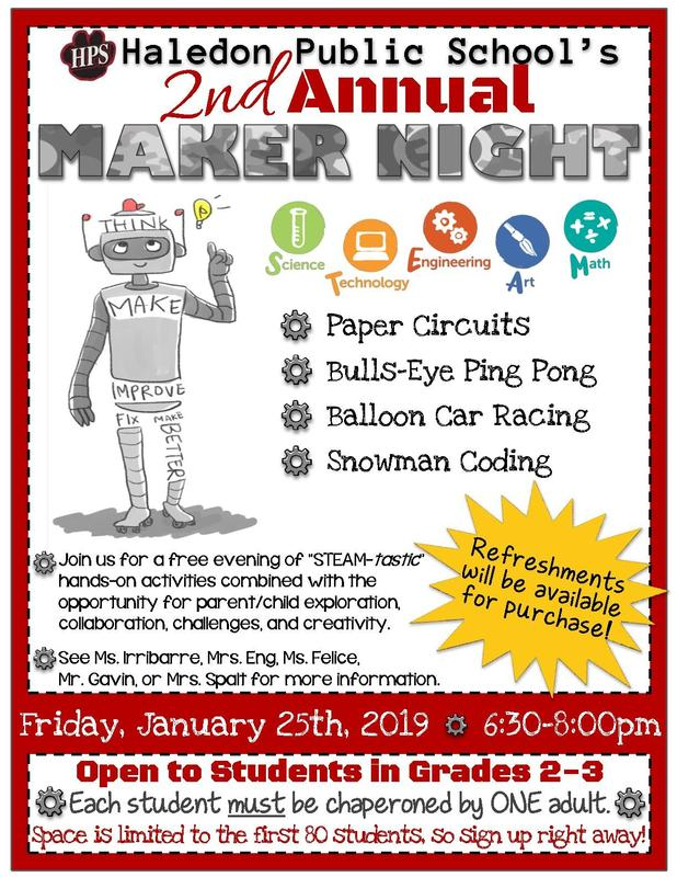 Maker Night 2 Flyer