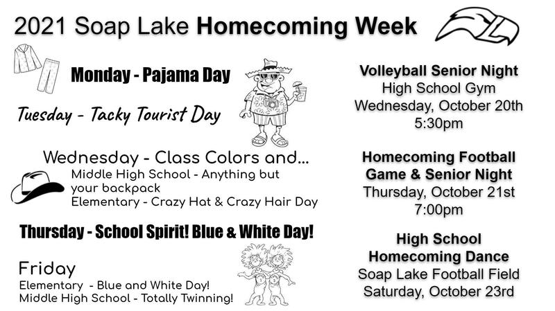2021 Soap Lake Homecoming Week Thumbnail Image