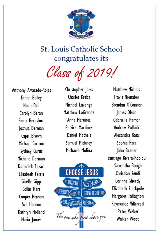 Congratulations Class of 2019! Thumbnail Image