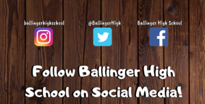 Follow BHS On Social Media!
