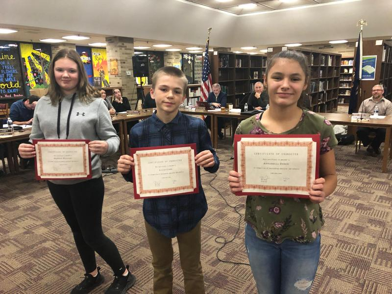 Congratulations LMS Students of the Month Thumbnail Image