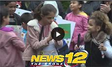 News12 coverage of White Cane Day
