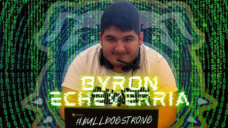 #BulldogSTRONG STUDENT SPOTLIGHT: Byron Echeverria Thumbnail Image