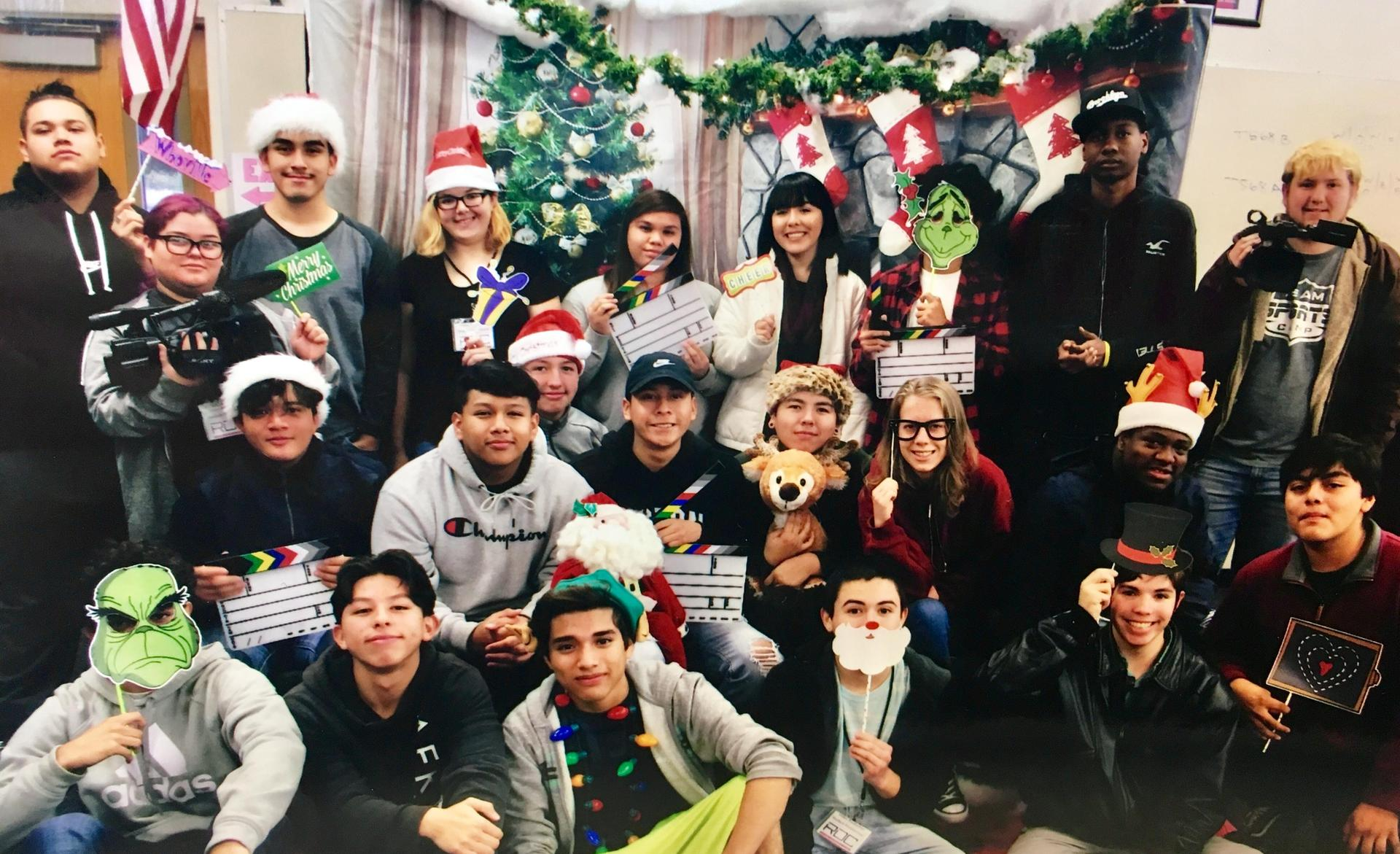 Christmas photo from the AM class!