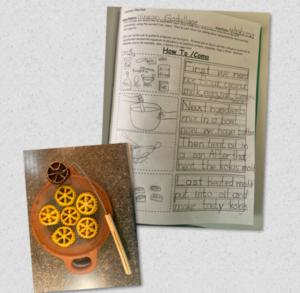 Koki food and recipe collage