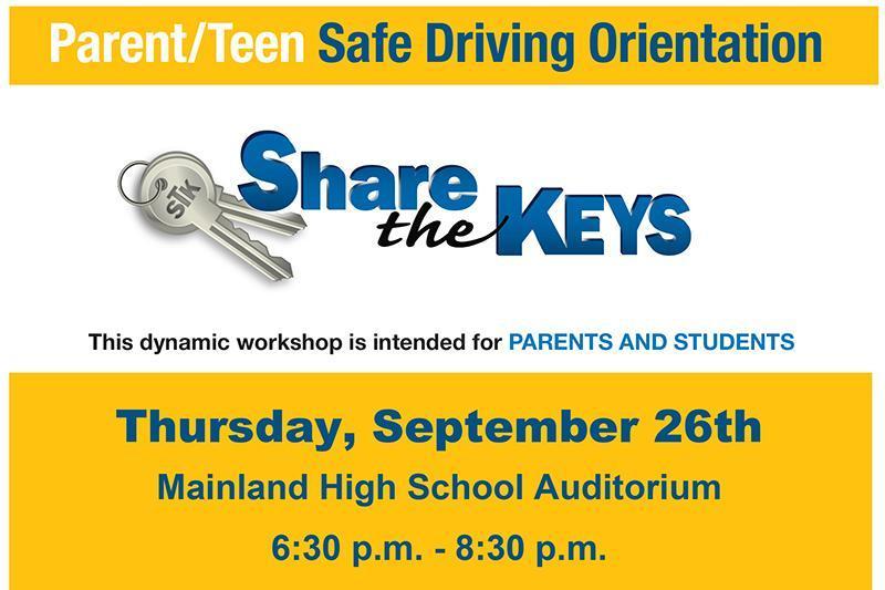 Share the Keys