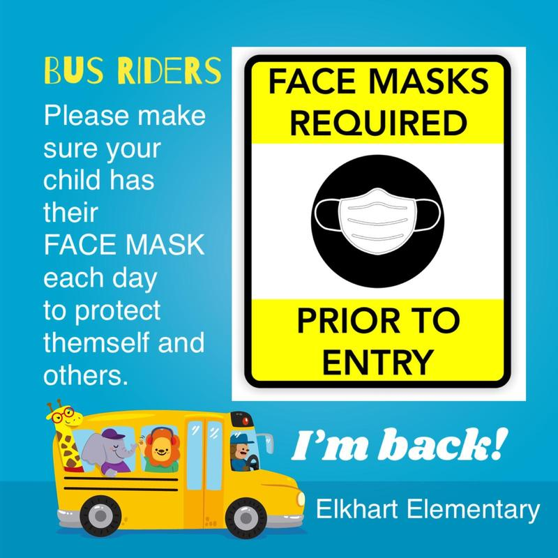 Bus - Mask Reminder Featured Photo