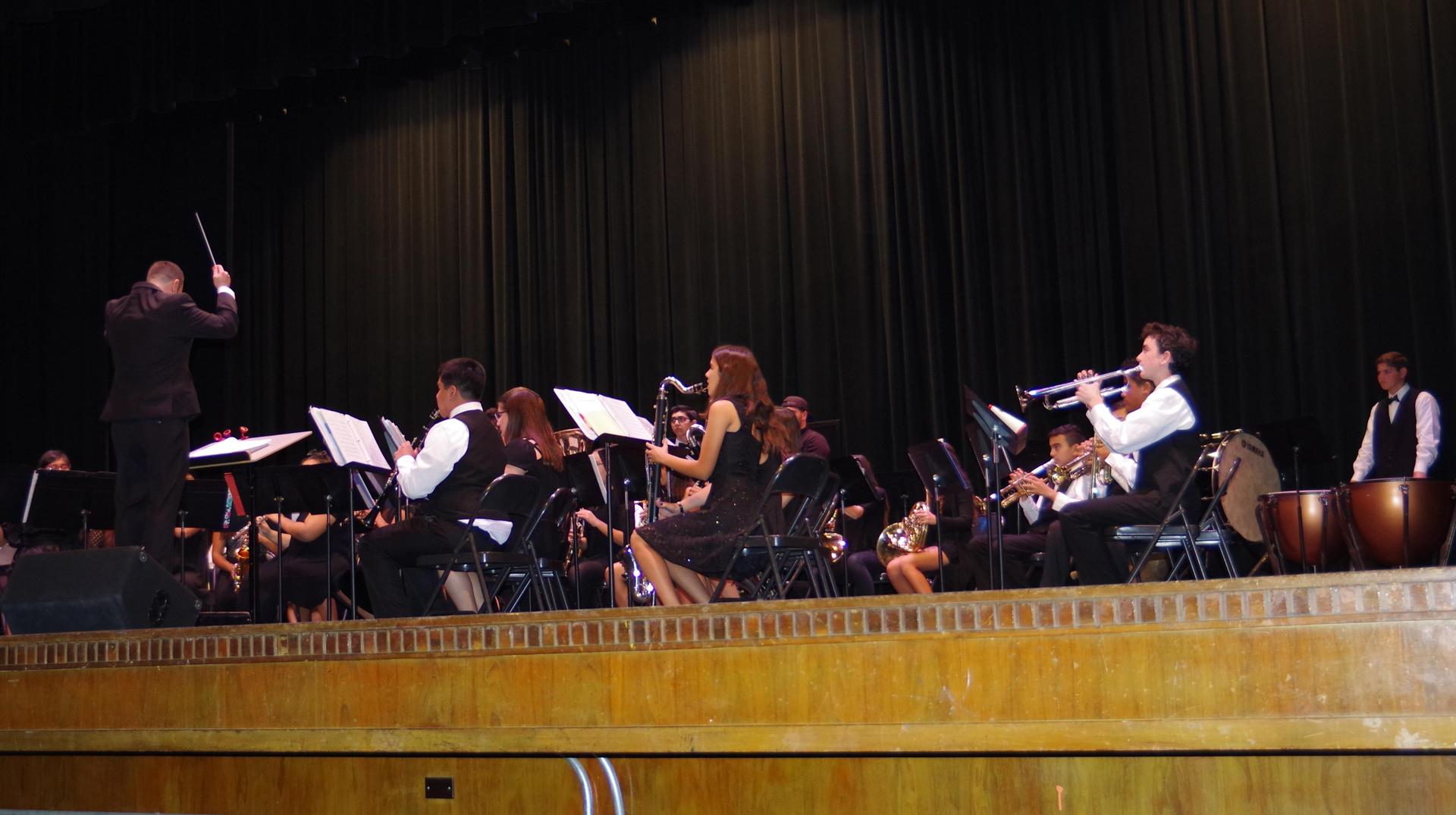 Winter Concert at Whittier HS