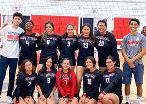 Pomona Red Devils Girls Volleyball Team