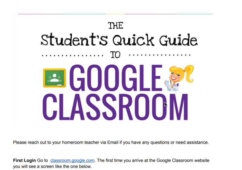 The VVISD Technology department has provided a file with instructions on how to annotate, add text, circles, and highlight text using Doc Hub, students can then submit back to teacher on Google classroom. Thumbnail Image