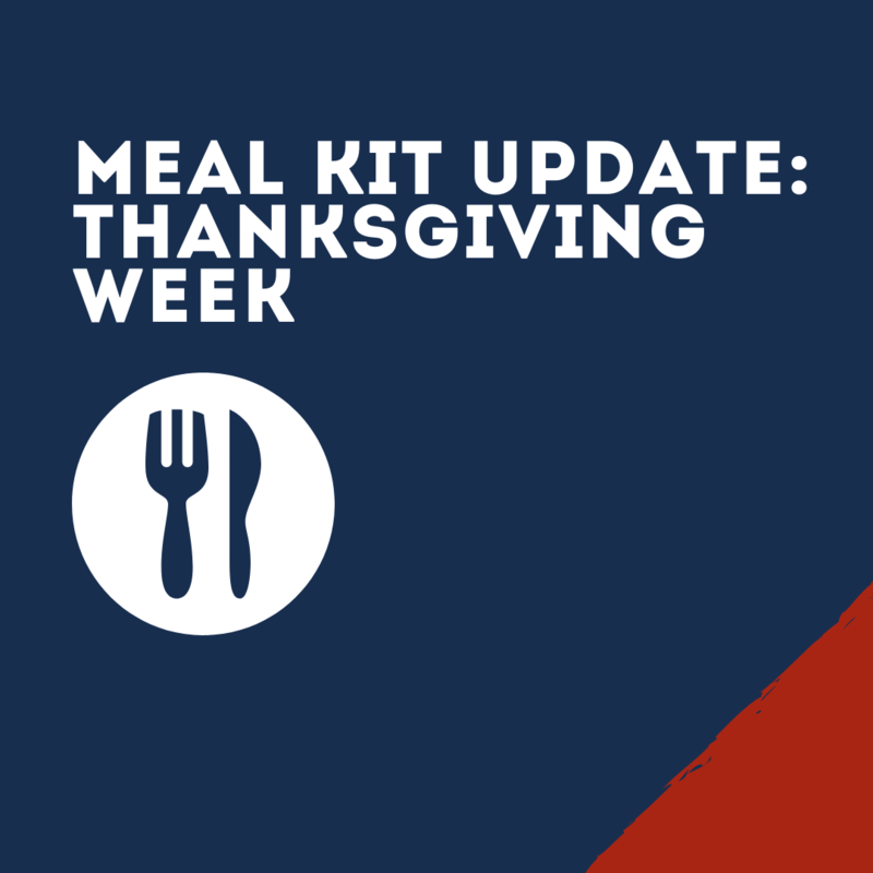 Thanksgiving Meal Kit graphic