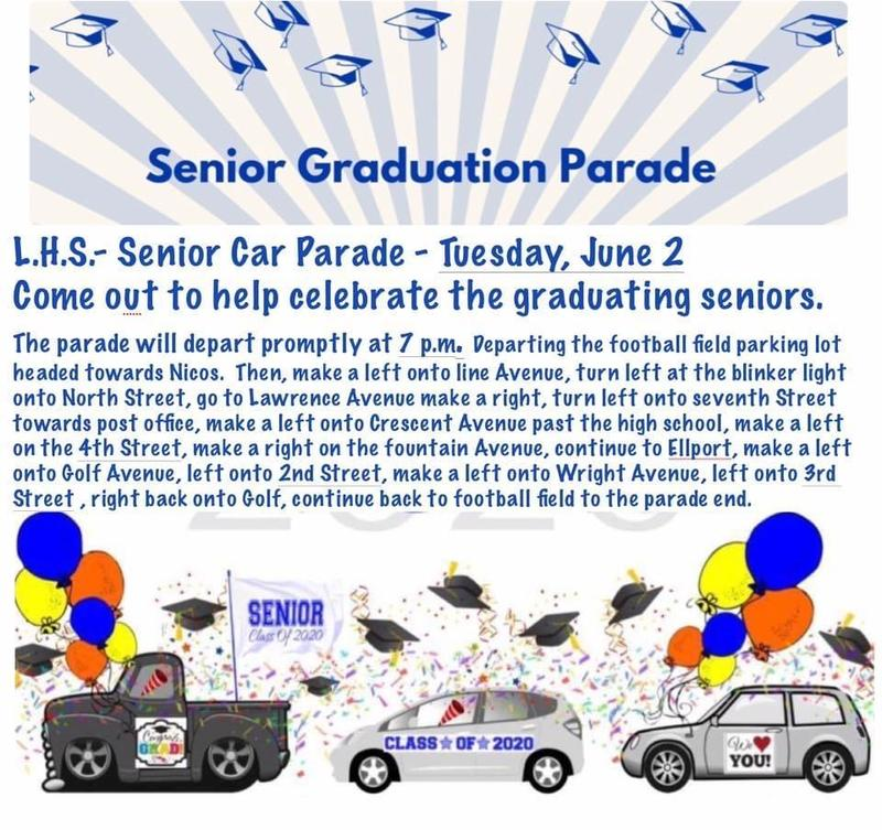Senior Parade Route
