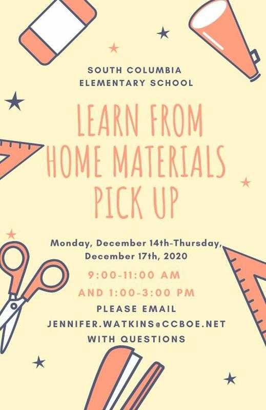LFH Materials Pick-Up (2nd Semester) Featured Photo