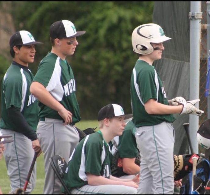 MRHS baseball players