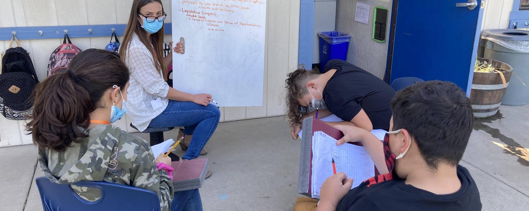 Vick outside lesson