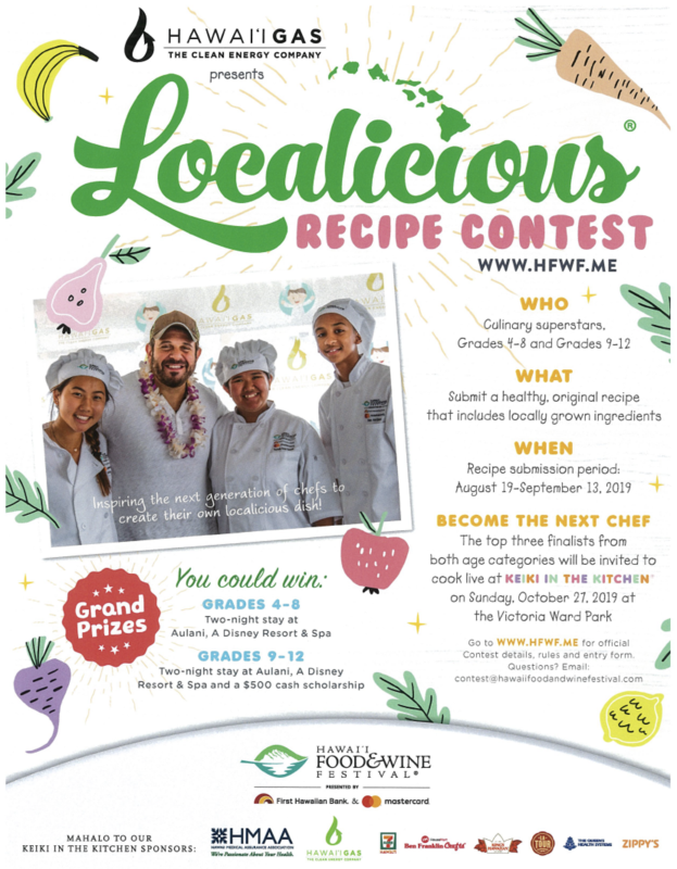 Localicious Recipe Contest (for grades 4 & 5) Featured Photo