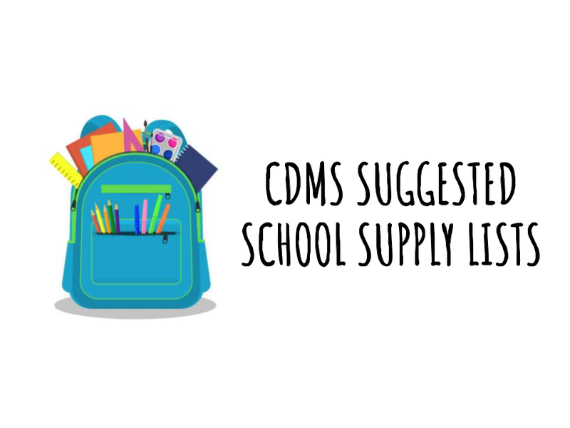 Click for Suggested School Supply Lists Featured Photo
