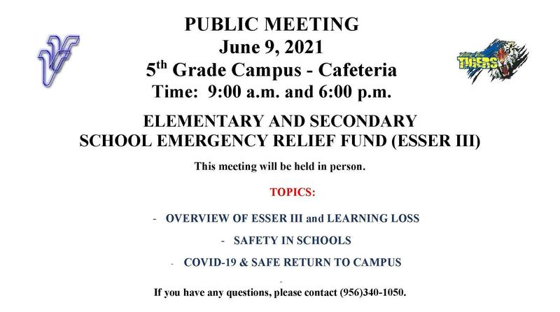 Elementary & Secondary School Emergency Relief Fund (ESSER III) Thumbnail Image