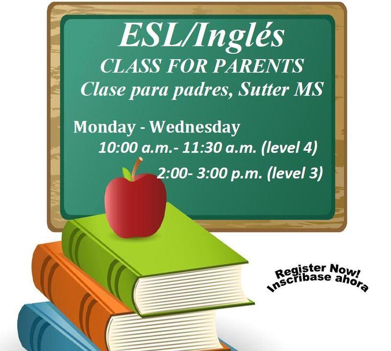 Adult ESL Classes / Clases de Inglés para Adultos Featured Photo