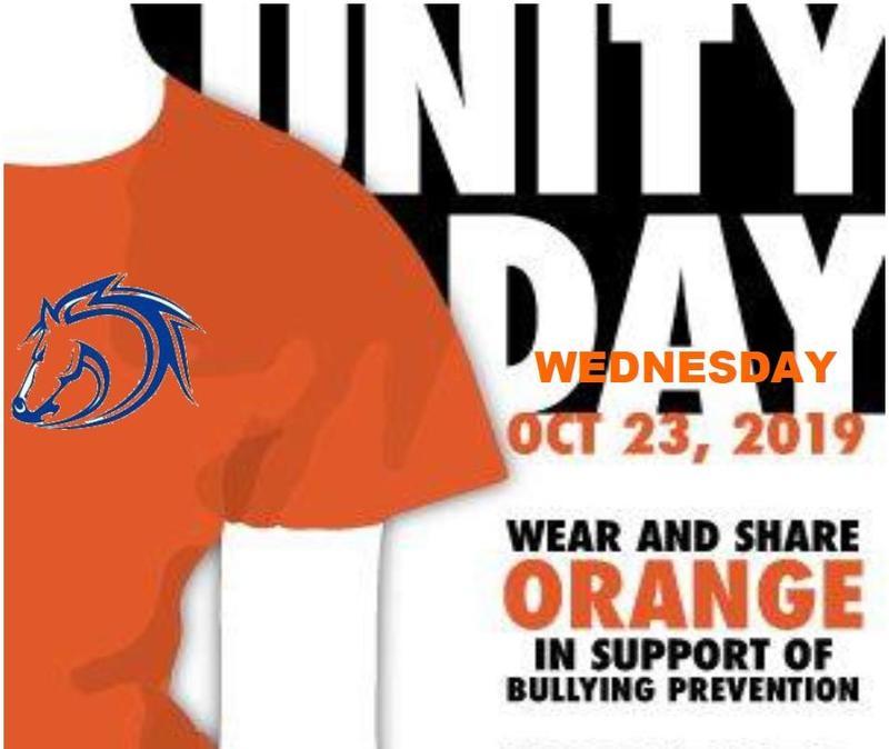 Unity Day--Wear ORANGE on Wednesday, October 23! Featured Photo
