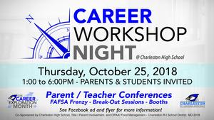 Career Workshop Night flyer